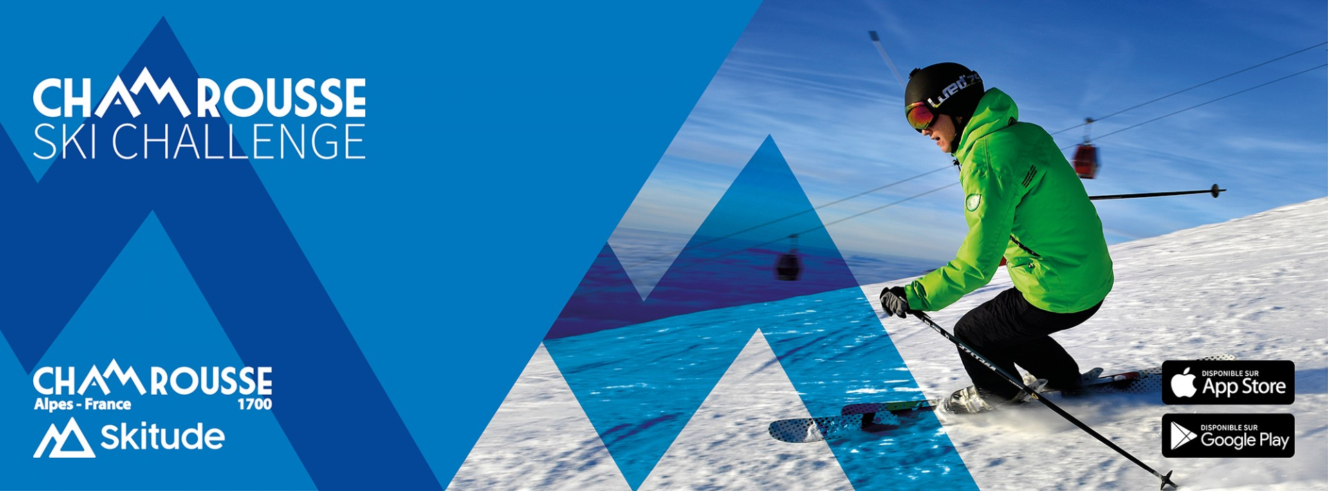 Chamrousse ski challenge