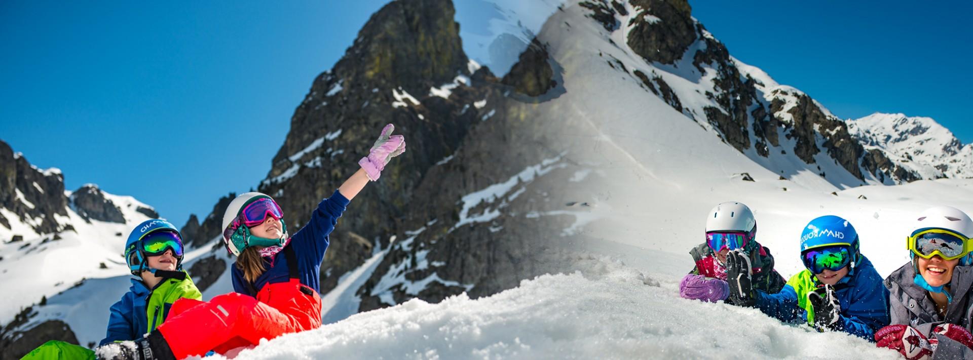 Ski enfant week-end pâques Printemps du Ski Chamrousse
