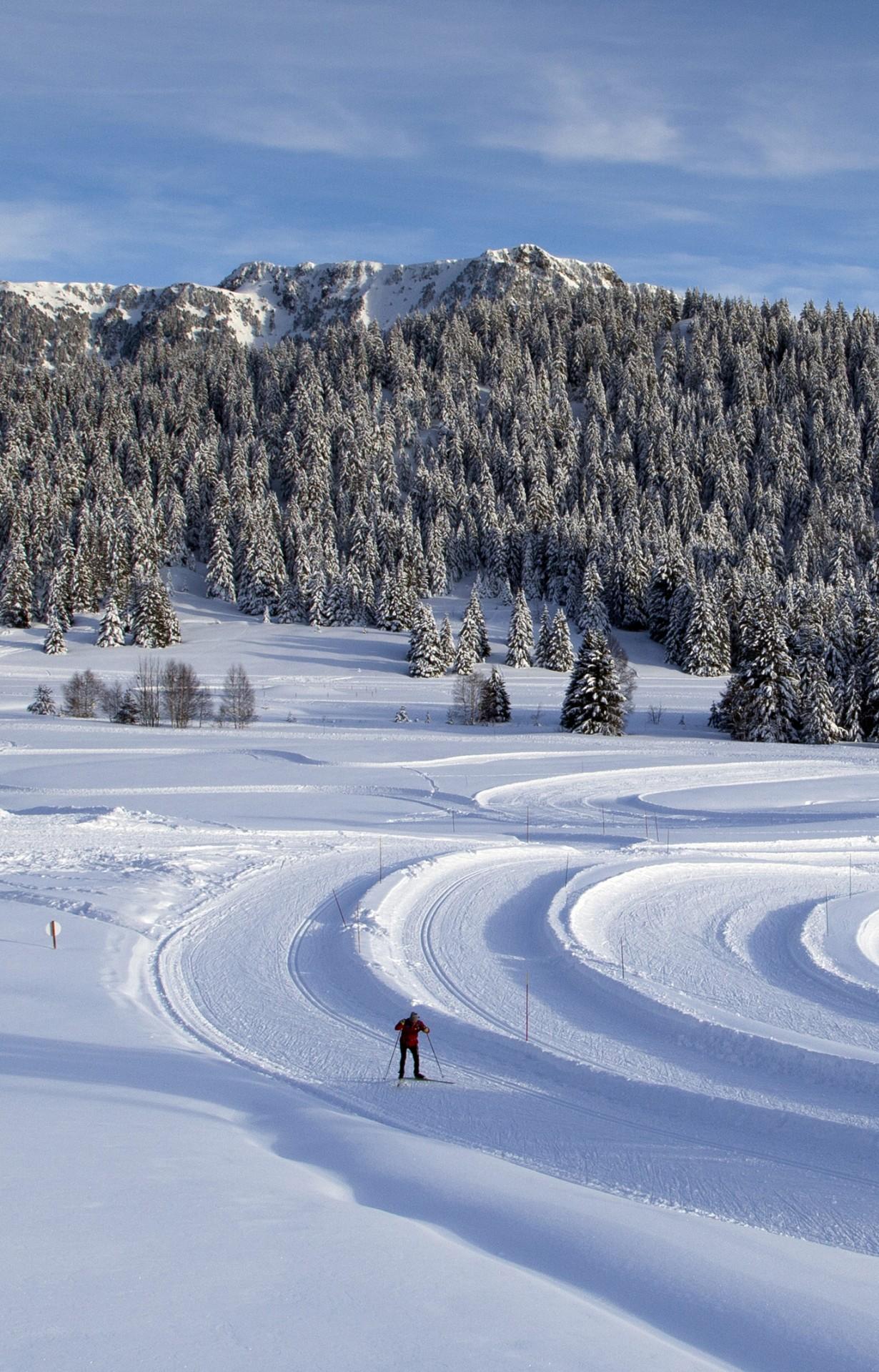 Chamrousse ski nordique / de fond
