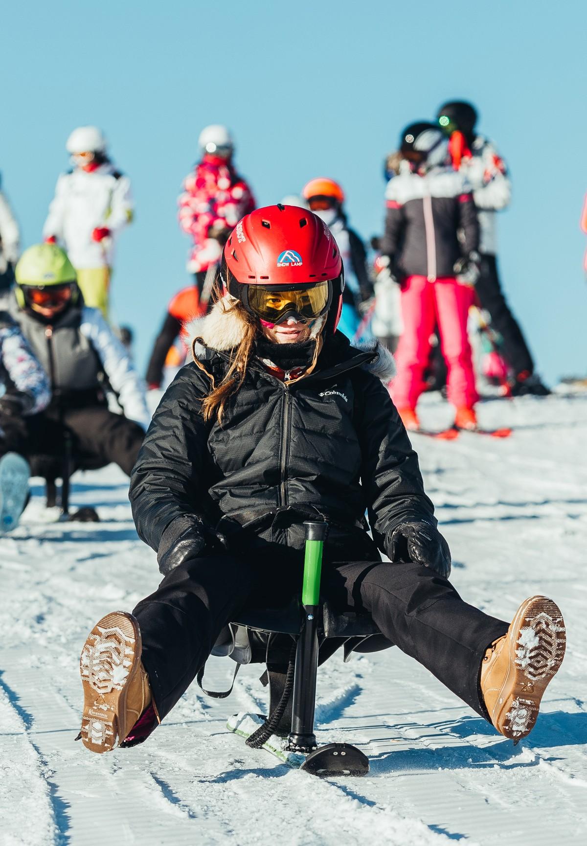Chamrousse snooc activité glisse station ski isère alpes france