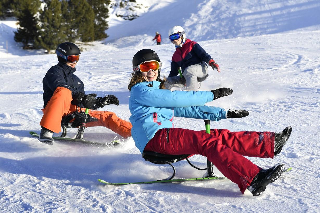 Chamrousse snooc nouvelle glisse luge park piste station ski isère alpes france