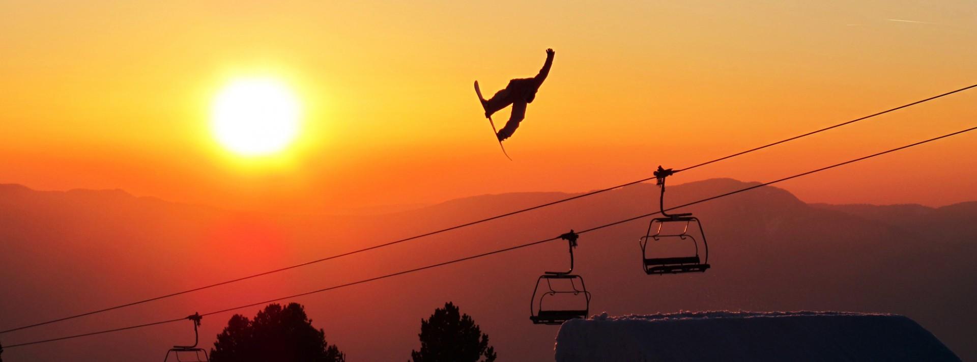 Chamrousse snowboard