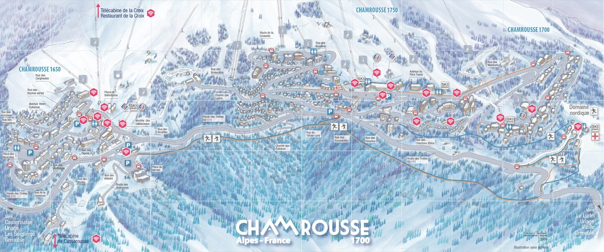 Plan wifi gratuit Chamrousse
