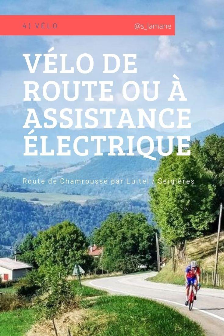 Chamrousse vélo activité automne station montagne isère alpes france