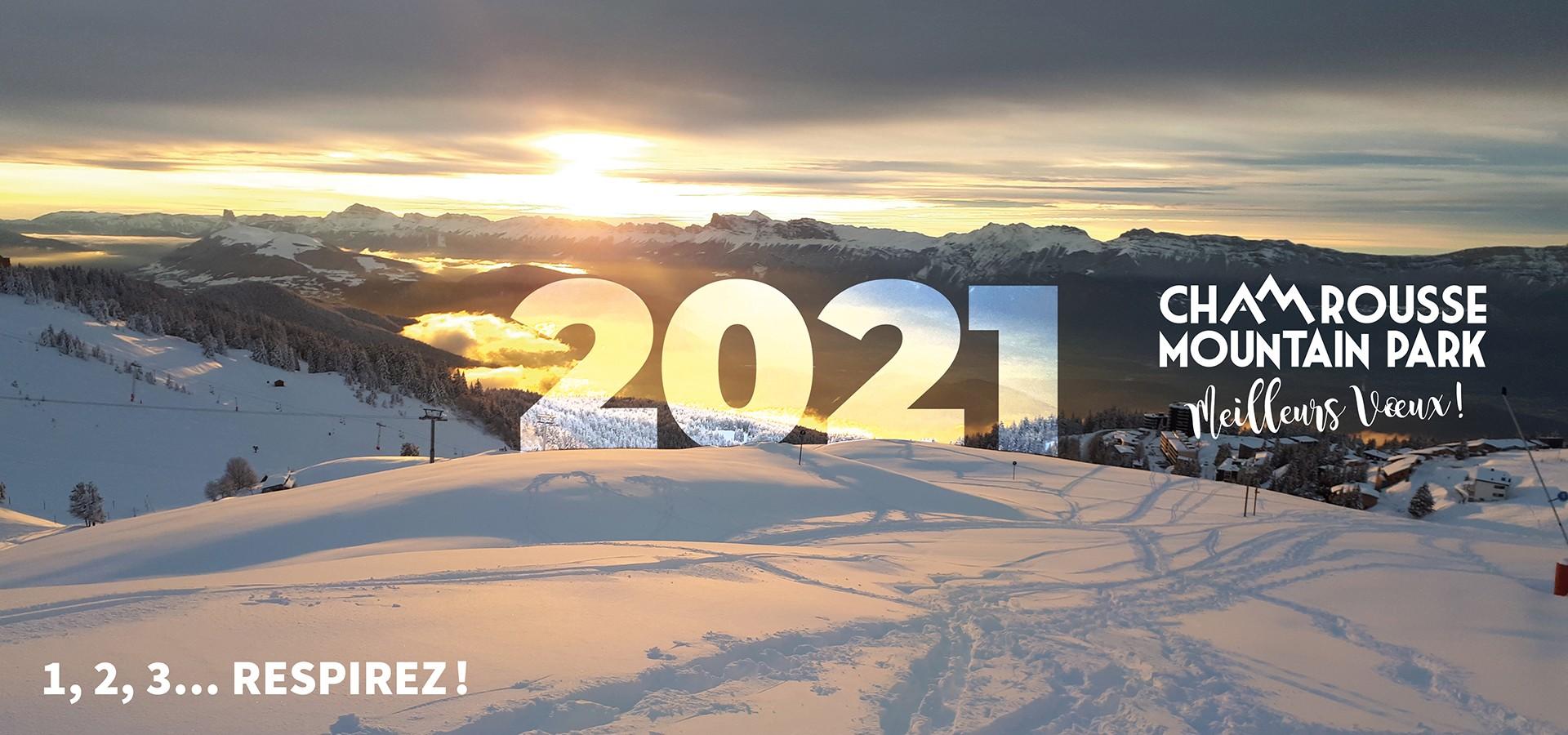 Voeux 2021 Chamrousse