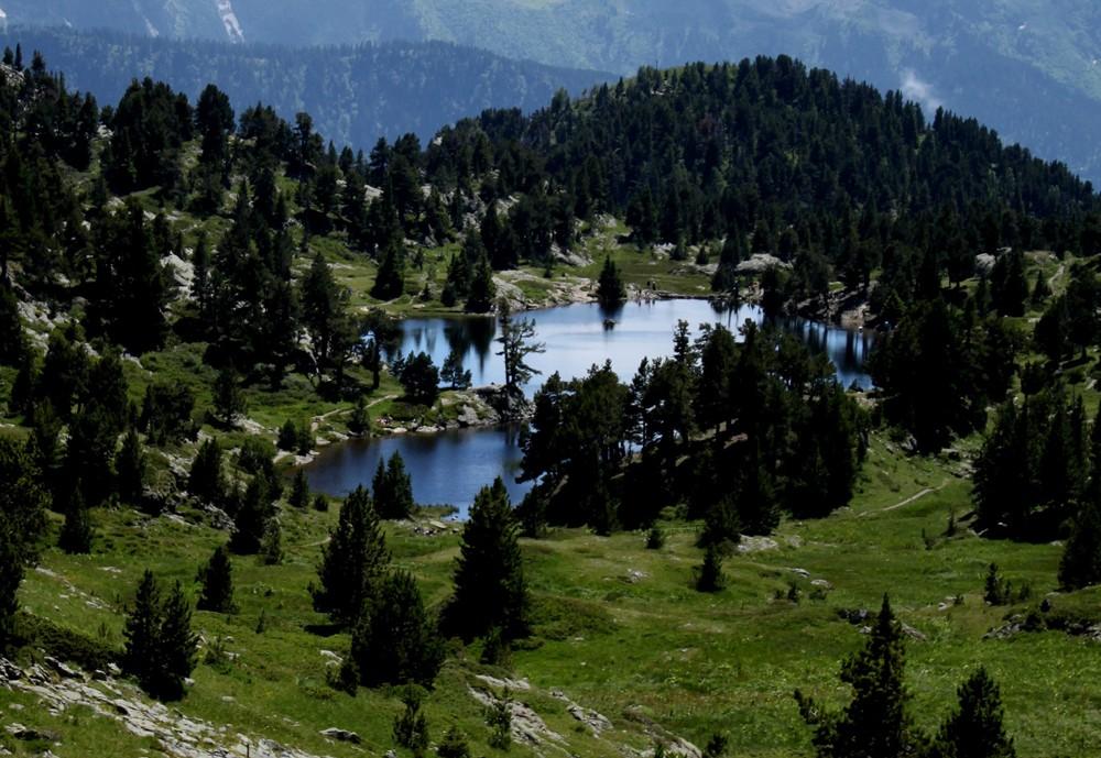 Chamrousse Achard lake