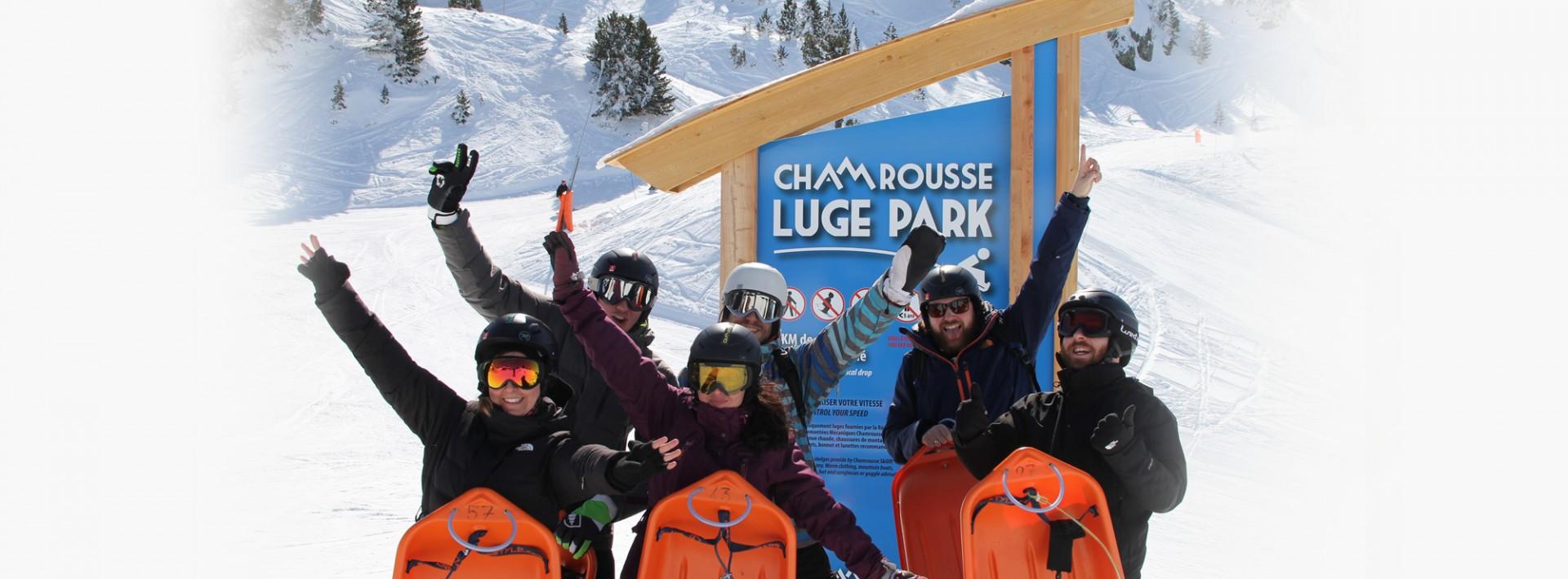 Luge Park Chamrousse