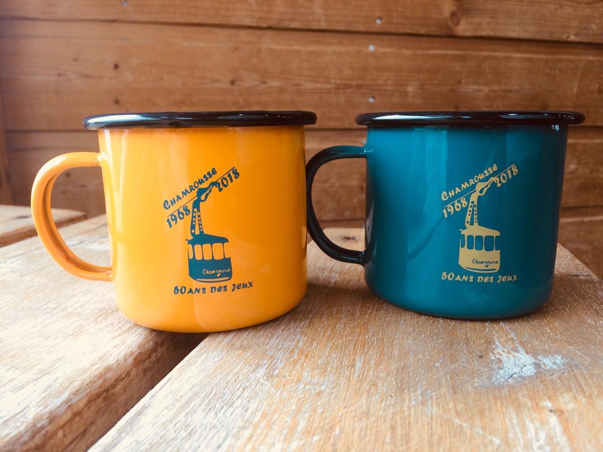 Mugs vintage 50 ans JO Chamrousse