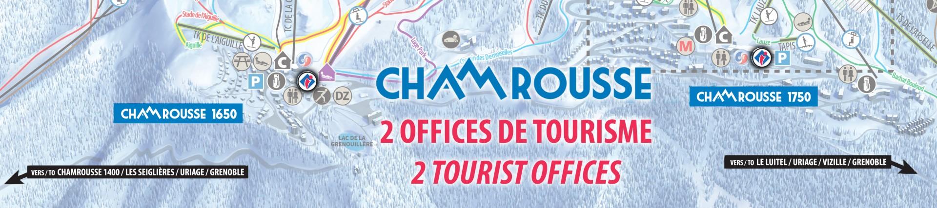 Plan situation office de tourisme Chamrousse