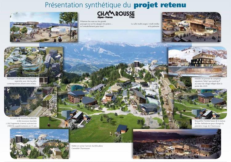 Présentation synthétique projet Chamrousse 2030