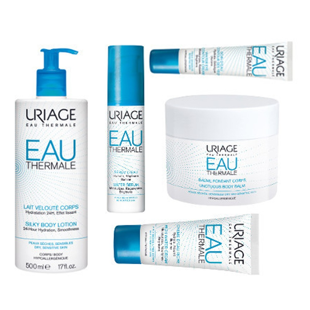 Uriage skincare products