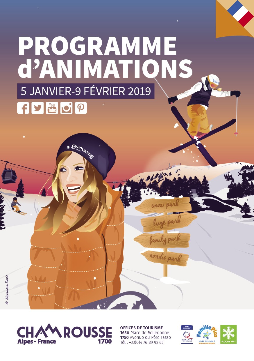 Programme animations Chamrousse hiver n°2