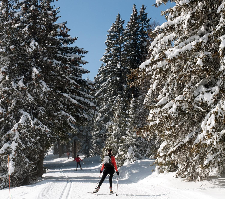 Chamrousse nordic ski