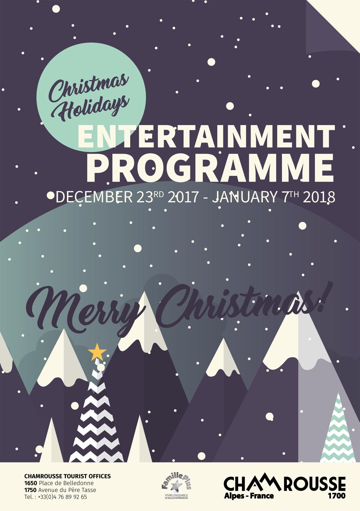Winter entertainment programme n°1