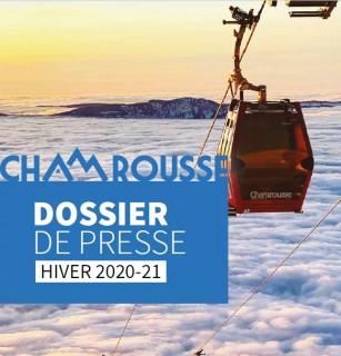 Chamrousse dossier presse hiver 2020-2021 station ski isere alpes france