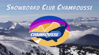 Logo club snowboard Chamrousse