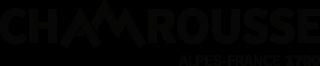 Logo Chamrousse noir fond transparent (png)