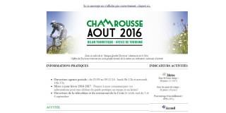 Newsletter Pro - Août 2016