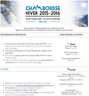 Newsletter Pro - Avril 2016