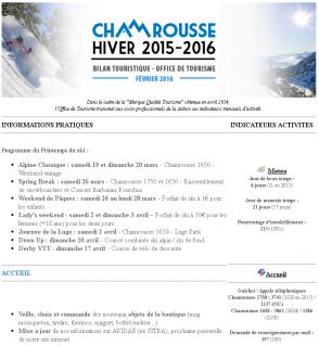 Newsletter Pro - Février 2016