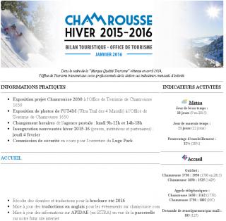 Newsletter Pro - Janvier 2016