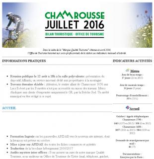 Newsletter Pro - Juillet 2016