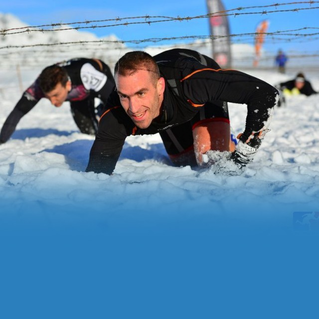 Chamrousse Alpha run trail winter snow
