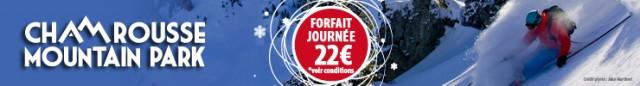Promo forfait journée 22€