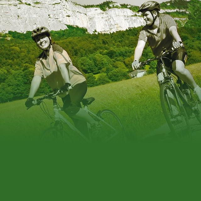 Vélo à assistance électrique de randonnée