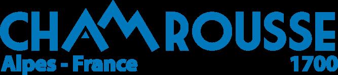 Logo Chamrousse bleu fond transparent (png)