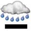 Couvert, Pluies Modérées ou fortes