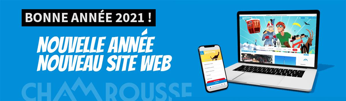 Chamrousse bonne année 2021 nouveau site web station montagne ski isère alpes france - © EM - OT Chamrousse