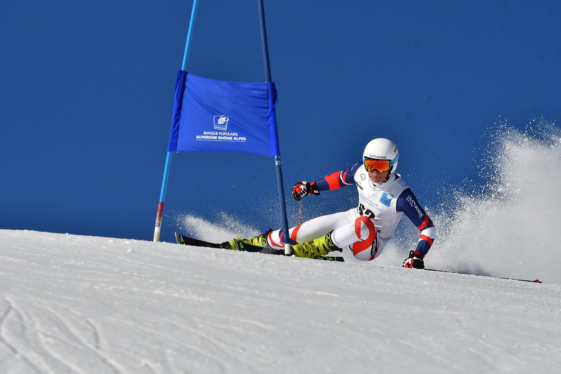 Chamrousse champion alban elezi cannaferina ski alpin slalom station montagne ski isère france - © Alban Elezi Cannaferina