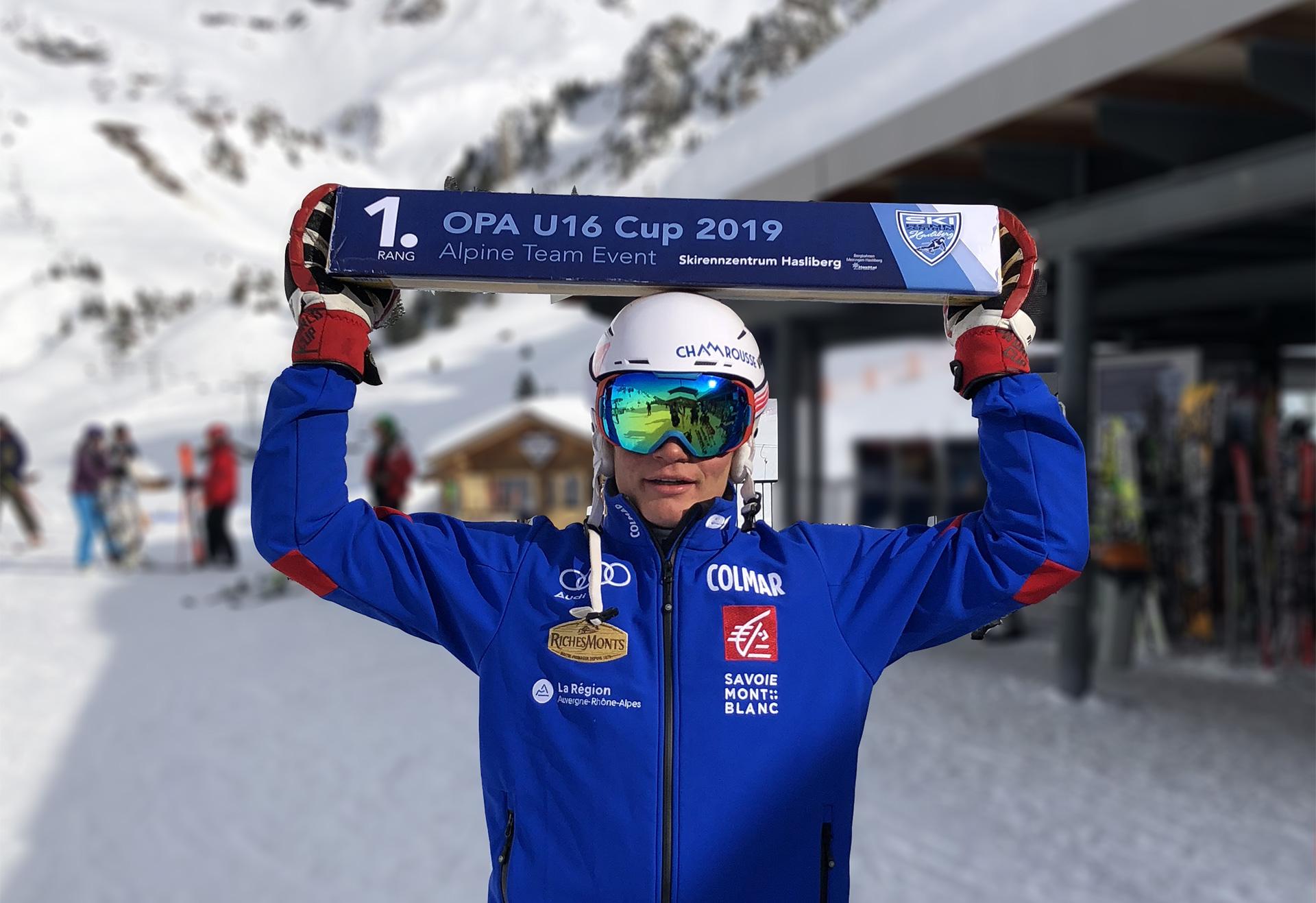 Chamrousse champion alban elezi cannaferina ski alpin slalom station ski isère france - © Alban Elezi Cannaferina