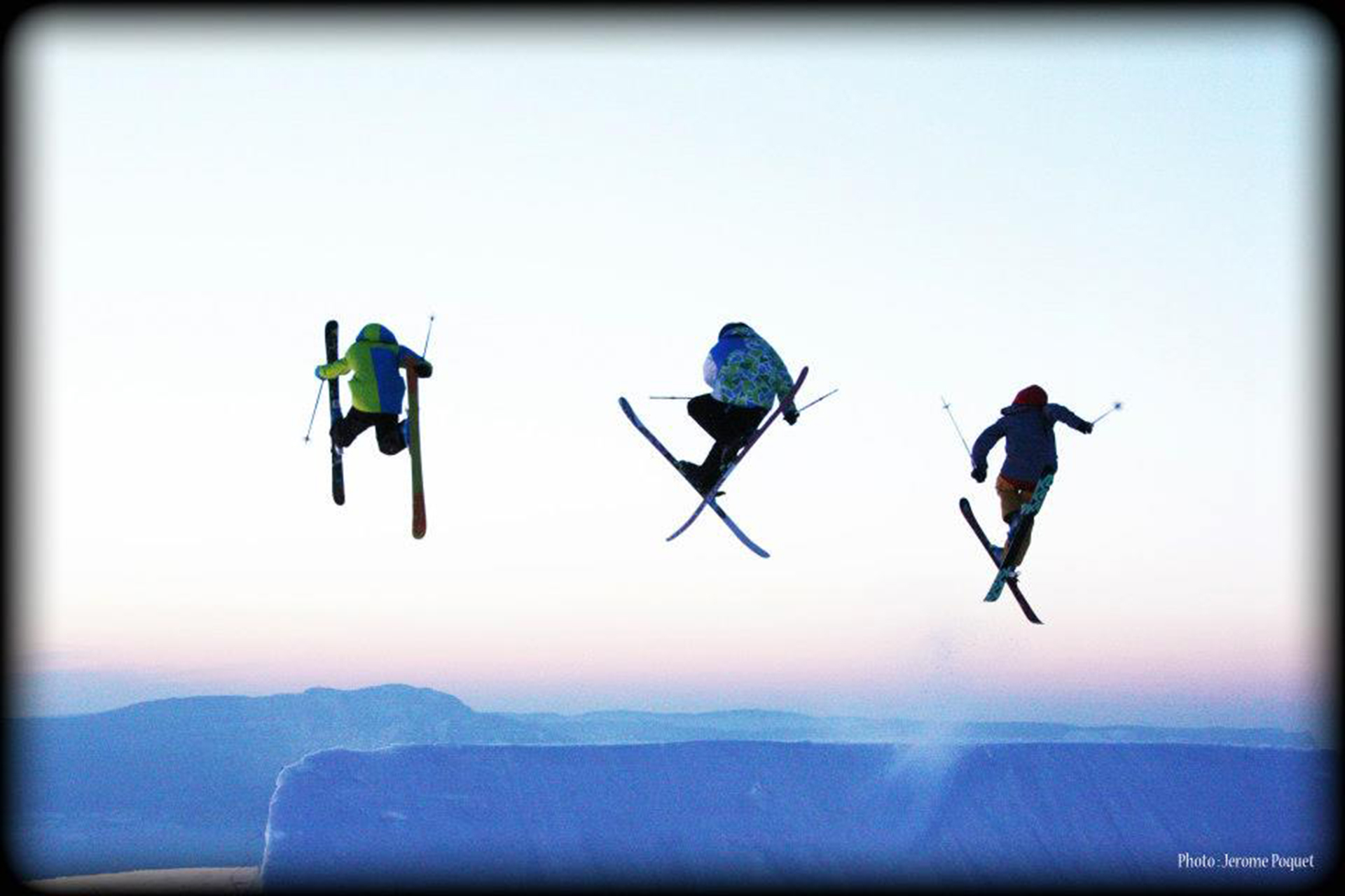 Chamrousse champion mirco ferrari ski freestyle station montagne ski isère france - © Jérome Poquet
