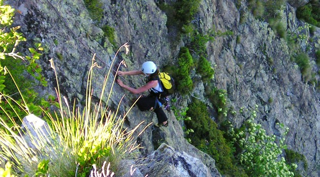 Bébert climbing siete