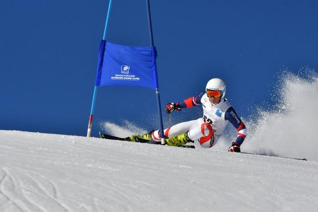 Champion ski alpin Alban Elezi Cannaferina Chamrousse