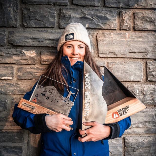 Championne snowboard Marion Haerty Chamrousse Freeride world tour 2017, 2019 et 2020