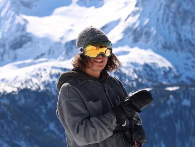 Champion ski freestyle Mirco Ferrari Chamrousse