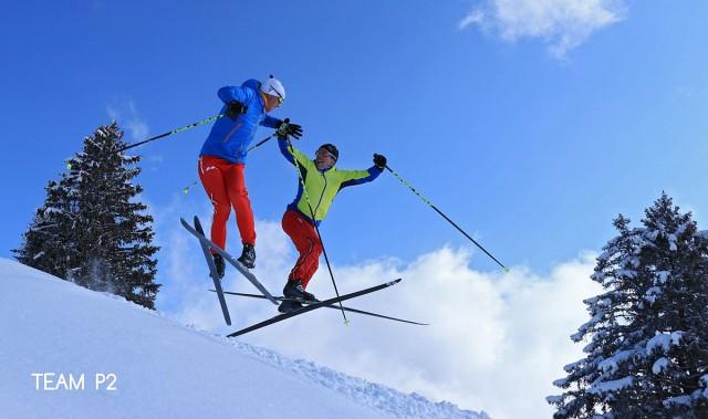 Team P2 Nicolas Perrier et David Picard champions ski de fond Chamrousse