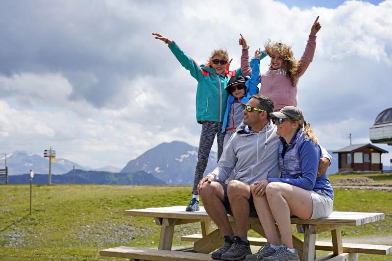 Chamrousse activity autumn spring family mountain resort grenoble isere french alps france