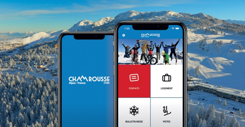 Téléchargement application mobile Chamrousse