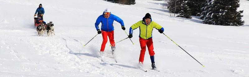 Chamrousse champion ski fond team p2 nicolas perrier david picard sportif station montagne ski isère alpes france