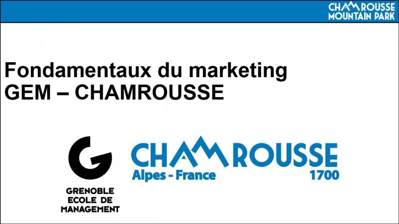 Chamrousse markethon gem grenoble école management travail étudiant station grenoble montagne ski isère alpes france