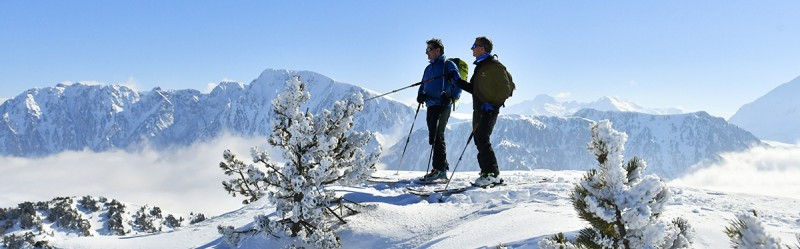 Chamrousse initiation ski rando randonnée station montagne isère alpes france