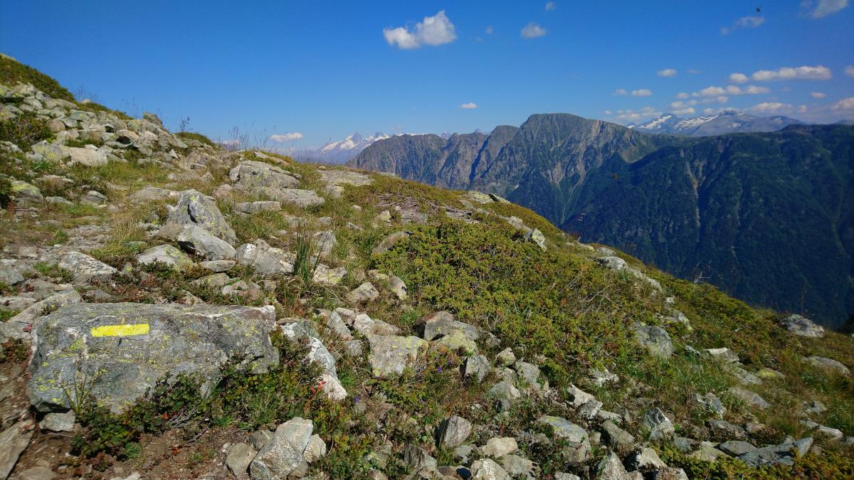 Chamrousse via ferrata walk access summer resort grenoble isere french alps france - © SD - OT Chamrousse