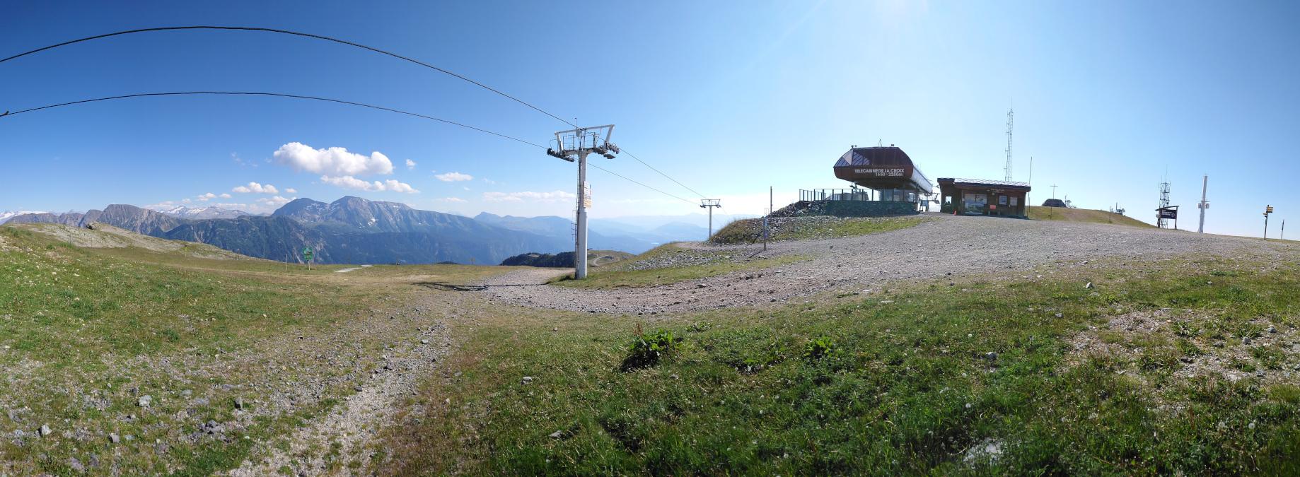Chamrousse via ferrata mountain panoramic view summer resort grenoble isere french alps france - © SD - OT Chamrousse