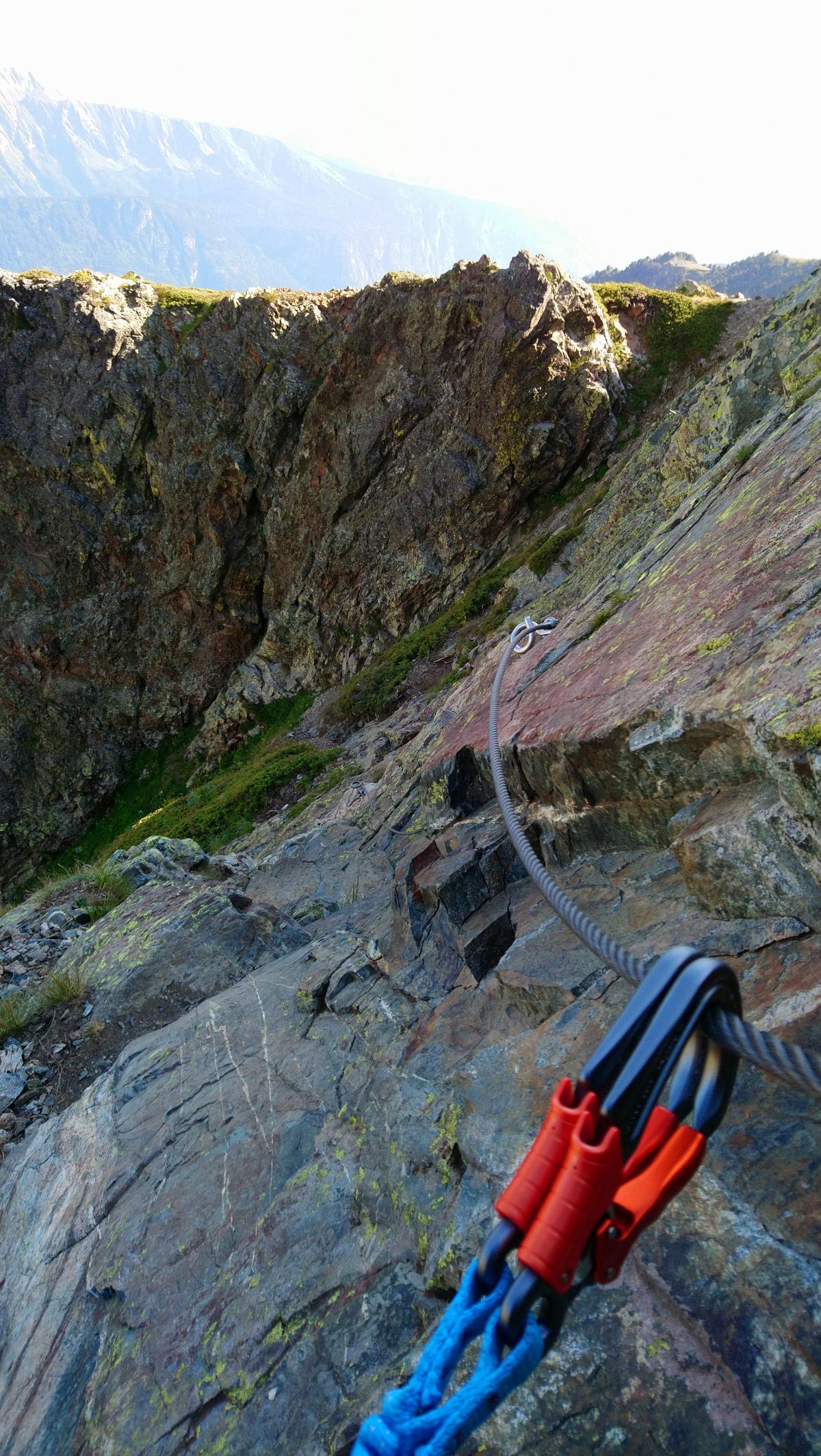 Chamrousse via ferrata climbing summer resort grenoble isere french alps france - © SD - Office de Tourisme de Chamrousse