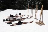 Présentation matériel pionnier ski français