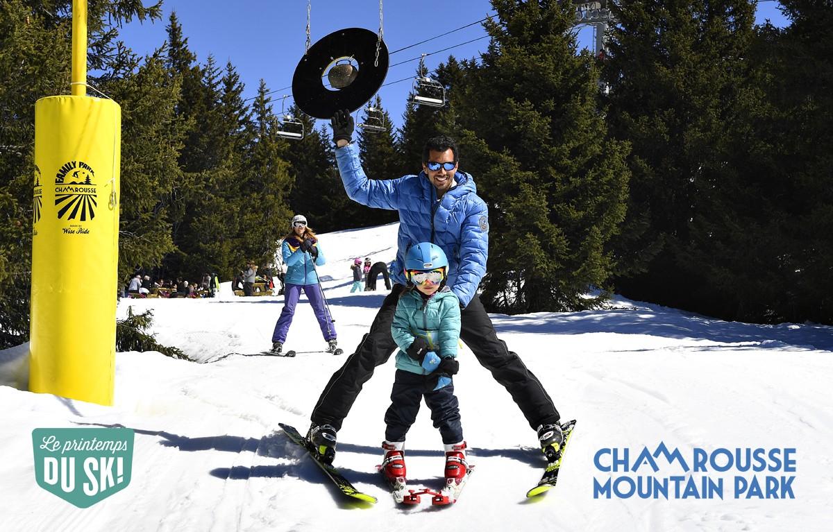 Chamrousse pack débutant printemps ski 2020 station isère alpes france